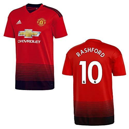 adidas Manchester United Trikot Home Herren 2018/2019 - RASHFORD 10, Größe:M