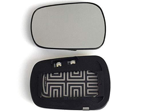 Spiegel Spiegelglas rechts beheizbar für Aussenspiegel elektrisch und manuell verstellbar geeignet