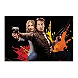 Filmschauspieler Tom Cruise Kunst-Poster 32 Leinwand-Poster