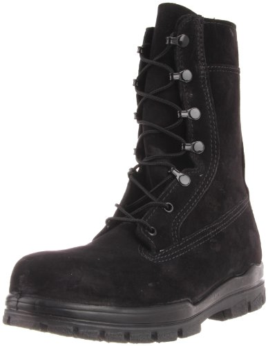 1778 Bates Women's US Navy 9IN Safety Boots - Black - 10.5 - W