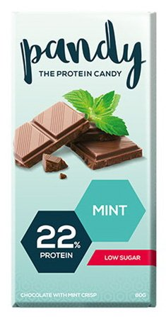 Pandy Protein Mint 18 Candy Bars