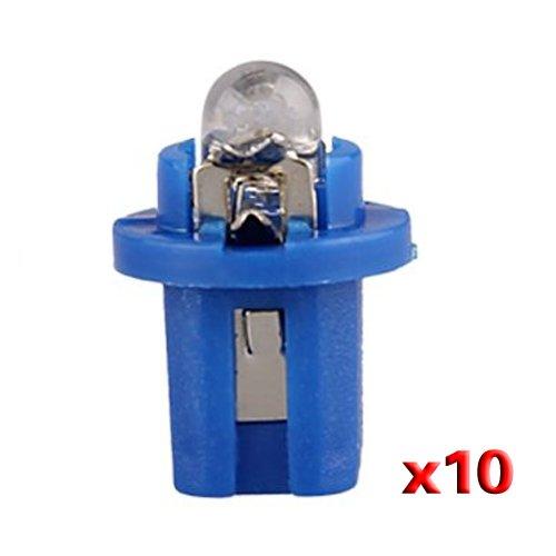 CARCHET 10 T5 Bombilla LED con Luz Azul para Salpicadero Coche DC 12V [Electrónica]