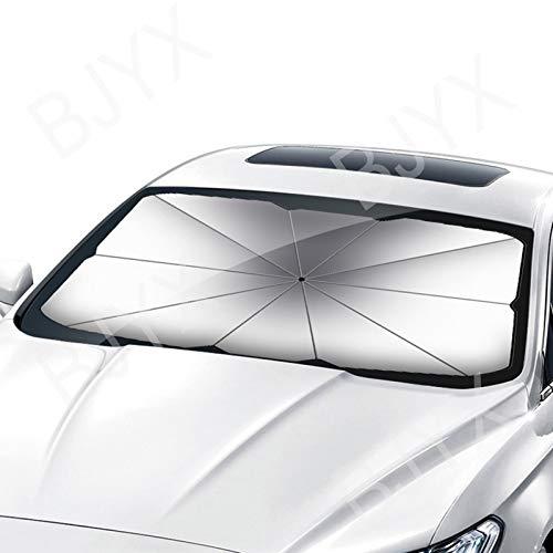 BJYX Paraguas Parasoles para Lunas Delanteras Protección Solar Protección UV Aislamiento Térmico Interior Anti-Envejecimiento