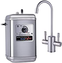 Ready Hot 41-RH-150-F560-BN Compact Hot Water Dispenser, Brushed Nickel