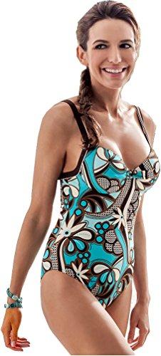 Fashy® dames bikini of badpak in de maat 38-44 / Cup C - volgens Öko-Tex® Standard 100 (vertrouwen in textiel).