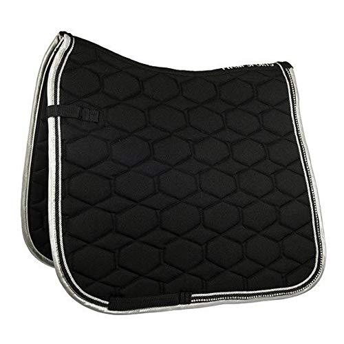 HKM Schabracke -Crystal Fashion-, schwarz, Dressur