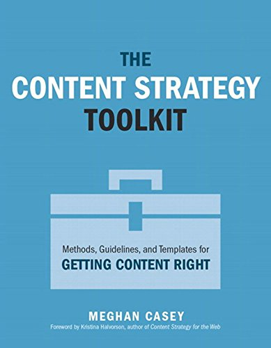 Content Strategy Toolkit, The: Methods, Guidelines, and Templates for Getting Content Right (Voices That Matter) (English Edition)