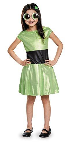 Buttercup Classic Powerpuff Girls Cartoon Network Costume, X-Large/14-16