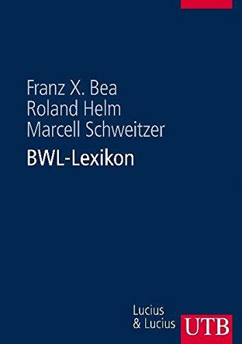 BWL-Lexikon (UTB L (Large-Format))