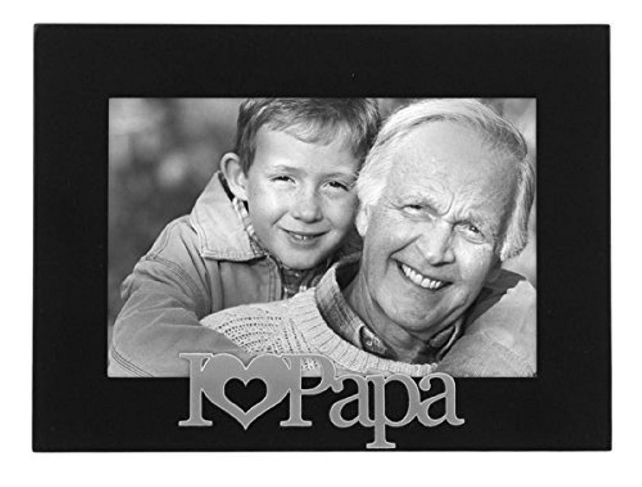 防腐剤ジャンル提案するMalden I Love Papa Expressions Frame, 4 by 6-Inch [並行輸入品]