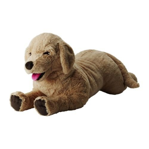Ikea Gosig Golden - Perro Retriever de Peluche (70 cm de Largo)