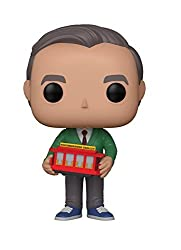 Image: Funko POP! TV: Mr. Rogers Mr Rogers Collectible Figure, Multicolor