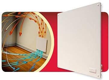 Digiteck - TC341 – Panel calefactor de pared ultraplano, 400 W, de bajo consumo, calor económico