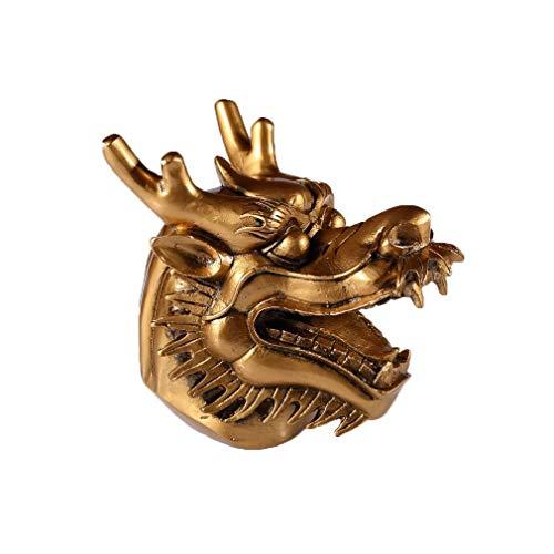 lachineuse TÊTE de Dragon Chinois - Réplique Modèle Antique