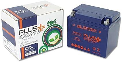 プラスバッテリー PB7C-X シールド式 ジェルタイプ バイク用 7C-A メイト TW225E TW200-2 7C-X