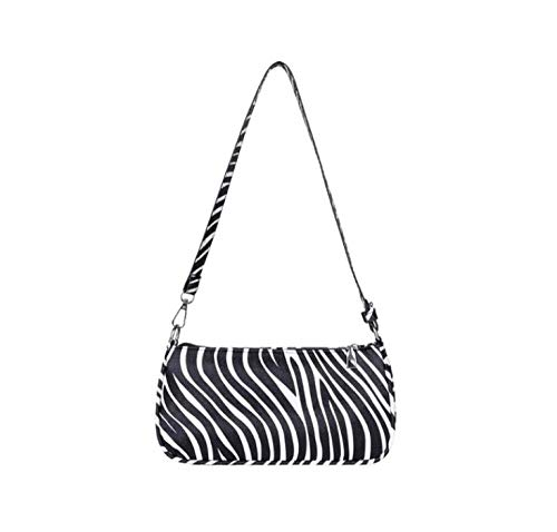 Frauen Bag Baguette Bag Kleine Umhängetasche Fashion Handbags-12-Zebra_24X4X14Cm