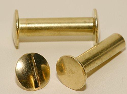 GGM 20 Buchschrauben 20mm vermessingt