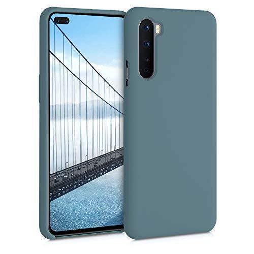 kwmobile Hülle kompatibel mit OnePlus Nord - Hülle Handyhülle gummiert - Handy Hülle in Arctic Blue