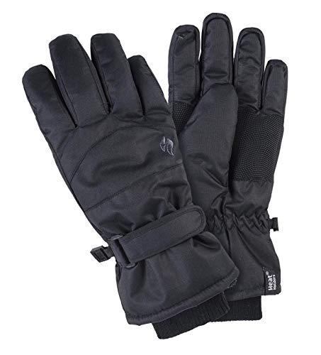 Heat Holders - Womens Extra Warm Waterproof Insulated Winter Thermal Ski Gloves (M/L, Ladies)