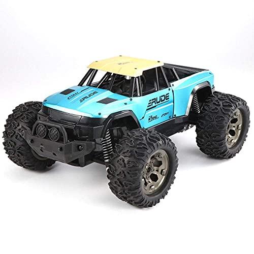 ZCYXQR Coche de Control Remoto Todoterreno de aleación Grande a Escala 1/12 2.4G Vehículo RC de Deriva inalámbrico Todo Terreno Escalada de Alta Velocidad Buggy Monster