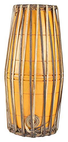 Mridangam Mridangam Instrument de musique en bois massif fabriqué à la main Jaune