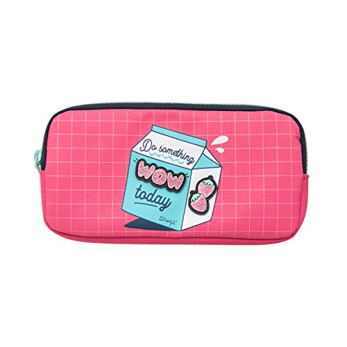 """Triple pencil case - Do something """"wow"""" today"""