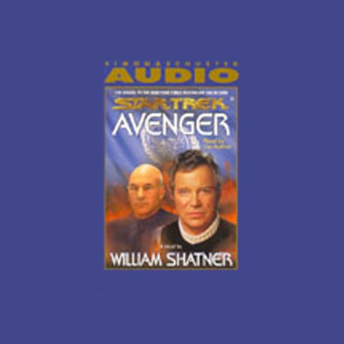 Star Trek: Avenger (Adapted) audiobook cover art