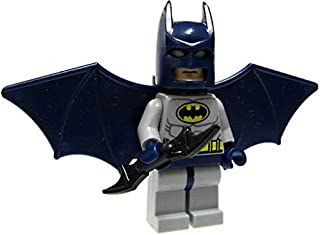 LEGO Batman Batman Minifigure (Blue Suit) with Glider Wings and Turbo Jet Backpack Assembly (Loose)