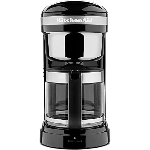KitchenAid 5KCM1209EOB Macchina da caffè con filtro, colore: onice nero