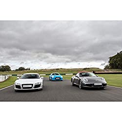 Drive three cars from a huge range of supercars, including Lamborghinis, Ferraris, Aston Martins and Porsches Enjoy up to three miles behind the wheel of each motor Strap in for a high-speed passenger ride in a sports saloon with a professional Take ...