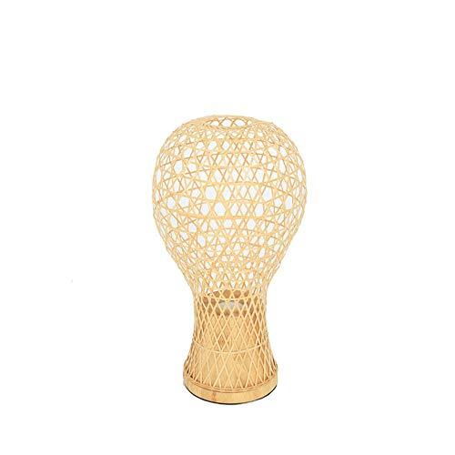 Yilingqi-1 Creatief nieuwe Chinese slaapkamer bamboe tafellamp teestube bamboe multifunctioneel nacht lichte landelijke stijl tafellamp