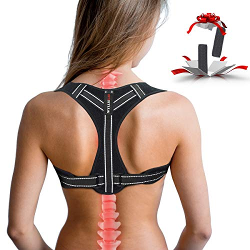 Posture Corrector for Women, Adjustable Back Posture Corrector for Men, Effective Comfortable Best Back Brace for Posture Under Clothes, Back Support Posture Brace for Shoulder and Back Pain Relief