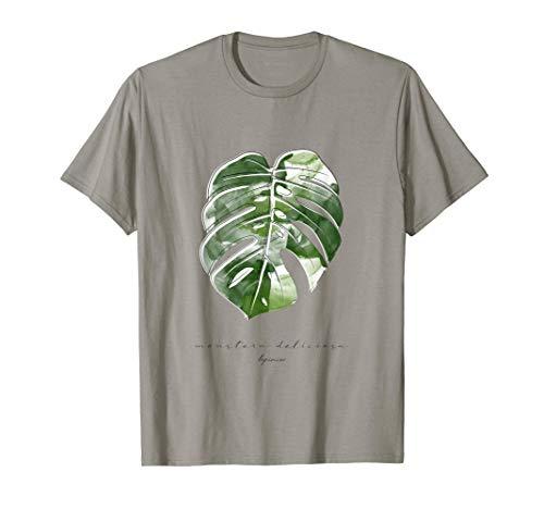 NEU Fensterblatt Monstera Variegata Pflanze Blatt Niedlich T-Shirt