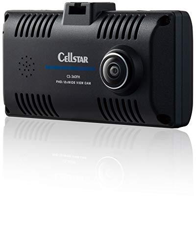 セルスター(CELLSTAR)【360°撮影】ドライブレコーダー CS-360FH STARVIS搭載 microSDカードメンテナンスフ...