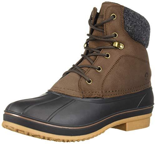 Northside Men's Braedon Snow Boot, Root Beer, 10 Medium US