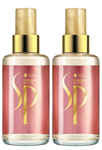 2er System Professional SP Wella Chroma Elixir Haaröl Oil mit brillantem Keratin Schutz 100 ml