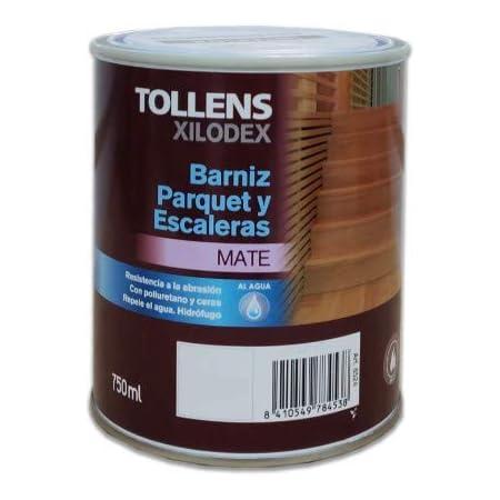 TOLLENS - BARNIZ PARQUET AL AGUA MATE 750 ML: Amazon.es ...