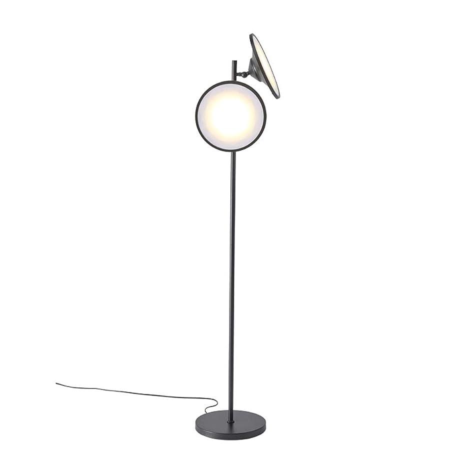 集中喪リーガンクリエイティブフロアランプ リビングルーム&ベッドルームのためのオフィスのための明るいLEDフロアランプ、現代読書ライト長身立ちポールライト ちらつきなし