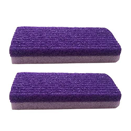 Frcolor 4pcs pied décolleur de callosités pédicure Foor File Scrubber pour l'exfoliation Supprimer la peau morte