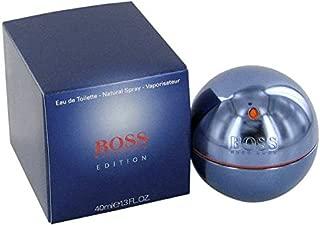 B o s ś in Motion Blue Edition Eau De Toilette Spray for Men 1.3 OZ.
