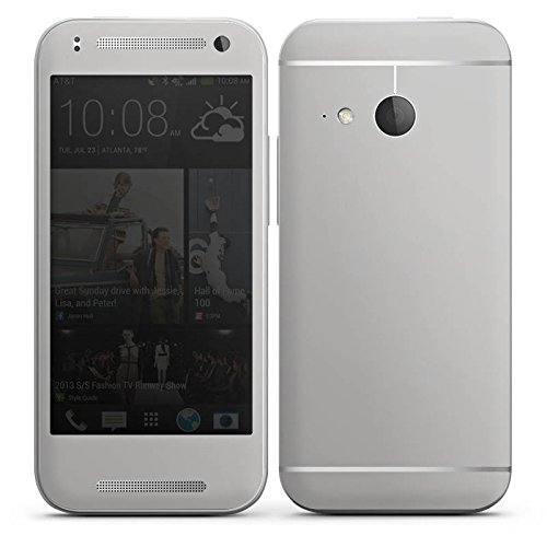 DeinDesign HTC One Mini 2 Case Skin Sticker aus Vinyl-Folie Aufkleber Graphit Grau Grey