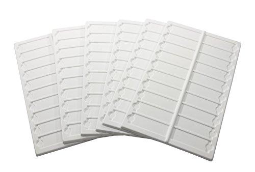 SP Bel-Art Microscope Slide Tray; 20 Capacity, 13½ x 6 ⅝ in, Plastic (Pack of 6) (H44581-0000)