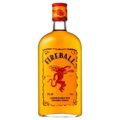 Fireball Cinnamon Whisky 50 cl - (Packung mit 2)