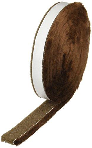 ニトムズ 毛付きすきまテープ ブラウン 10mm×30mm×2m E0391