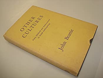 Hardcover Other Cultures by John Beattie Book