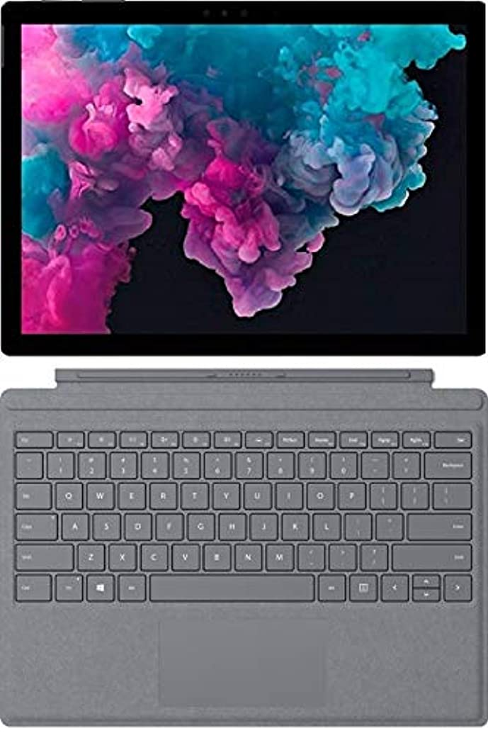 """Newest Microsoft Surface Pro 6 12.3"""" (2736x1824) PixelSense 267 PPI 10-Point Touch Display Tablet PC W/Surface Type Cover, Intel Quad Core 8th Gen i5-8250U, 8GB RAM, 256GB SSD, Windows 10, Black"""