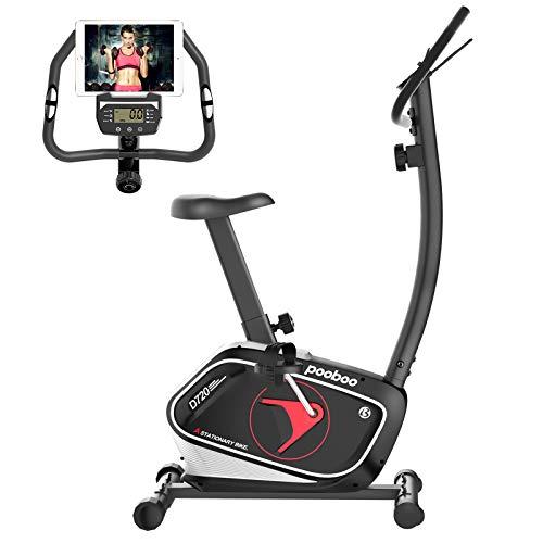pooboo Exercise Bike Stationary Indoor Cycling Bike Magnetic...