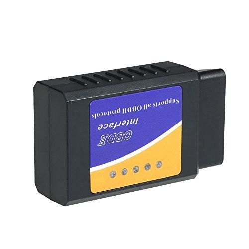 KKmoon OBD2 OBD-diagnoseapparaat BT auto-diagnosecodelezer, scanner tool gereedschap auto gadget
