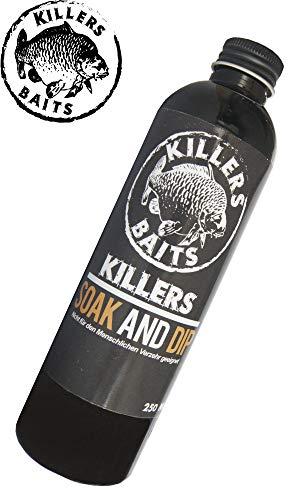 Carp Killers Soak & Dip 2 in 1 Flasche 250ml, Geschmack:Banane Fisch