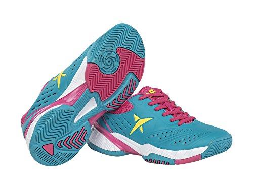 Drop Shot Molecular Tech W - Zapatillas Deportivas para Mujer, Color Azul, Talla 39